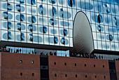 Elbphilharmonie, Speicherstadt, Hamburg, Germany.