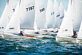 Teenagers sail in Rhode Island regatta for junior sailors