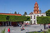 Mexico, State of Guanajuato, San Miguel de Allende, Plaza Civica Allende