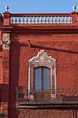 Mexico, State of Guanajuato, San Miguel de Allende, Palacio Municipal facade