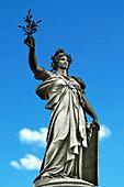 France, Paris. Place de la Republique. Statue of the Republic.