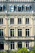 France. Paris 16th district. Place de l'Etoile. Building between rue Lauriston and avenue Foch