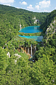 Croatia, Lakes and waterfalls of the National park of Plitvice