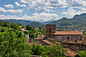 France, Ariege, Couserans, St Lizier, Cathedral
