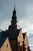 Church of St. Maria Kyrkan, Ystad, Skane, Southern Sweden, Sweden