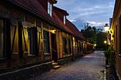 Motifs on Wallander's Traces, Ystad, Skane, Southern Sweden, Sweden