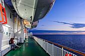 Ferry to Gotland, Schweden