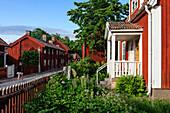 Sweden house in the open-air museum Gamla, Sweden