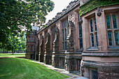 Exterior Wall, East Pyne Hall, Princeton University, Princeton, New Jersey, USA