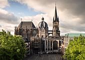 UNESCO World Heritage Aachen Cathedral, Aachen, North Rhine-Westphalia, Germany