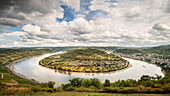 UNESCO World Heritage Upper Rhine Valley, Rheinschleife around Boppard, Rhineland-Palatinate, Germany