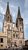 UNESCO World Heritage Old Town of Regensburg, Regensburg cathedral, Cathedral of St Peter, Regensburg, Bavaria, Germany