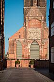 UNESCO World Heritage Hanseatic city of Wismar, church of St. Mary, Wismar, Mecklenburg-West Pomerania, Germany