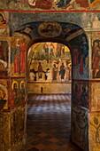 Interior of Church of St. Elijah the Prophet, Yaroslavl, Russia