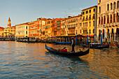 Palaces along the Canal Grande, Venezia, Venice, UNESCO World Heritage Site, Veneto, Italy, Europe