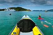 Snorkeling at 115 Island in the Margui Archipelago, Myanmar
