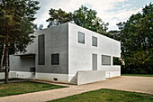 UNESCO World Heritage Bauhaus school, Gropius House, Master Houses at Dessau, Dessau-Rosslau, Saxony-Anhalt, Germany