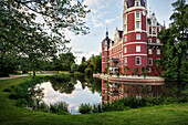 UNESCO World Heritage Muskau Gardens Prince Pueckler Park, New Castle, Lausitz, Saxony, Germany