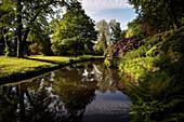 UNESCO World Heritage Muskau Gardens Prince Pueckler Park, Lausitz, Saxony, Germany