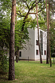 UNESCO World Heritage Bauhaus school, House Muche / Schlemmer, Master Houses at Dessau, Dessau-Rosslau, Saxony-Anhalt, Germany