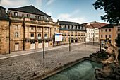 UNESCO World Heritage Margrave Opera House, Bayreuth, Frankonia, Bavaria, Germany