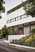 UNESCO World Heritage Le Corbusier House, Weissenhof Settlement, Stuttgart, Baden-Wuerttemberg, Germany