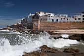 bab laachour, ramparts and fortification between the northern and western bastion, essaouira, mogador, atlantic ocean, morocco, africa