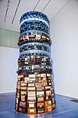 'England, London, Tate Modern, Artwork titled ''Babel'' by Cildo Meireles dated 2002'
