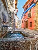 Fuente en Cuacos de Yuste, Cáceres, Extremadura, Spain