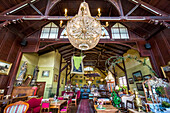 Restaurant Strandhalle, Binz, Ruegen Island, Mecklenburg-Western Pomerania, Germany