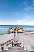 Sellin Pier, Sellin, Ruegen Island, Mecklenburg-Western Pomerania, Germany