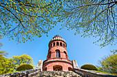 Ernst-Moritz-Arndt tower, Bergen, Ruegen Island, Mecklenburg-Western Pomerania, Germany