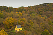 Chapel, near Ahrbrueck, Ahrsteig hiking trail, Ahr, Rhineland-Palatinate, Germany