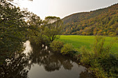 Ahr valley, near Puetzfeld, Ahrsteig hiking trail, Ahr, Rhineland-Palatinate, Germany