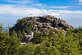 Arber chapel at Grosser Seeriegel, Grosser Arber, Bavarian Forest, Bavaria, Germany