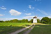 Engelsberg windmill, near Krefeld, Lower Rhine, North-Rhine Westphalia, Germany