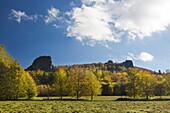 Bruchhauser Steine, near Olsberg, Rothaarsteig hiking trail, Rothaar mountains, Sauerland, North Rhine-Westphalia, Germany