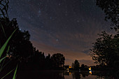 Spreewald biosphere reserve, Germany, hiking, kayaking, recreation area, family holidays, family outing, apartment, romance, starry sky, stars, excursion, overnight stay, summer night, summer holidays