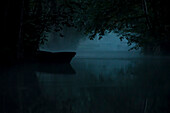 Biosphere Reserve Spreewald, Germany, Hiking, Kayaking, Recreation Area, Family Vacations, Family Outing, Paddling, Rowing, Wilderness, Excursion, Day Trip, River Landscape, Morning Mist, Water Reflection, Boat, Moonlight