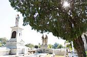 Tomas Acea graveyard Cementerio, Cienfuegos, Cuba, Caribbean island