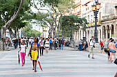 boulevard Prado, historic town center, old town, border between Habana Vieja and Habana Centro, family travel to Cuba, holiday, time-out, adventure, Havana, Cuba, Caribbean island