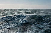 Rough seas and high winds rage, Ross Sea, Antarctica