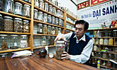 Vietnamese traditional healer in the suburb of Cabramatta, Sydney, New South Wales, Australia