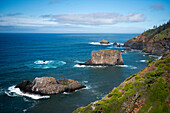 View from Captain Cook's Lookout in Norfolk Island National Park, Australia