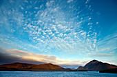 Bathurst Harbour deep in the wilderness of the Southwest National Park, Tasmania, Austalia