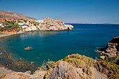 Strand und Küstenlandschaft, Agios Pavlos, Sandy Hill Beach, Kreta, Griechenland, Europa