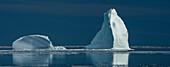 Icemountain, Clyde River, Baffin Island, Canada.