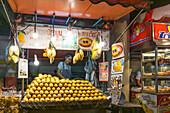 Street Food Market, Sukhumvit,  Soi 38, Fruit Stall, Mango