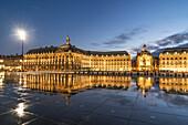 Place De La Bourse, Bordeaux, UNESCO-Weltkulturerbe, Gironde,  Aquitanien, Frankreich, Europa Bordeaux, France