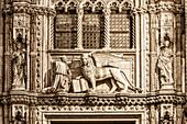 Markusloewe, Dogenpalast, Porta della Carta
